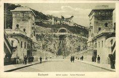 Old Budapest/Budapest régen: Budapest 1910 - Gellert Monument