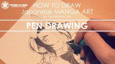 ✔ Pen Drawing *Detail up #inktober2017 | How to draw Manga Art 2017.10.06