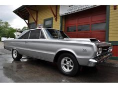 1967 Plymouth Satellite- My Nonna drove this car. It had sparkly vinyl interior. That is where my love of vintage cars began.