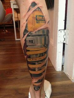 microbusinessdude: motolady: How 'bout a little suspension upgrade? Ooooh, Ohlins. Definitely in the running for best tattoo ever… pun intended. Holy shit this is awesome