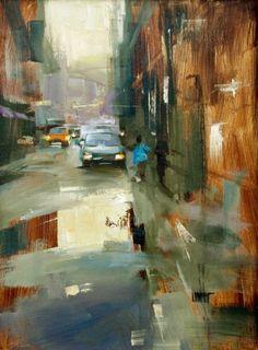 Tibor Nagy Study 3, painting by artist Qiang Huang