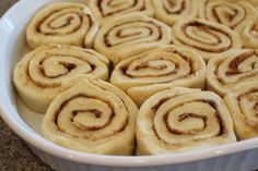 ~Ohio Thoughts~: Make in the Morning Cinnamon Rolls