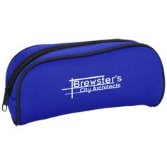 Keep all of your writing utensils in this imprinted case!