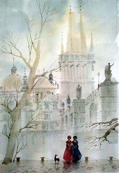 Olga Litvinenko Watercolors