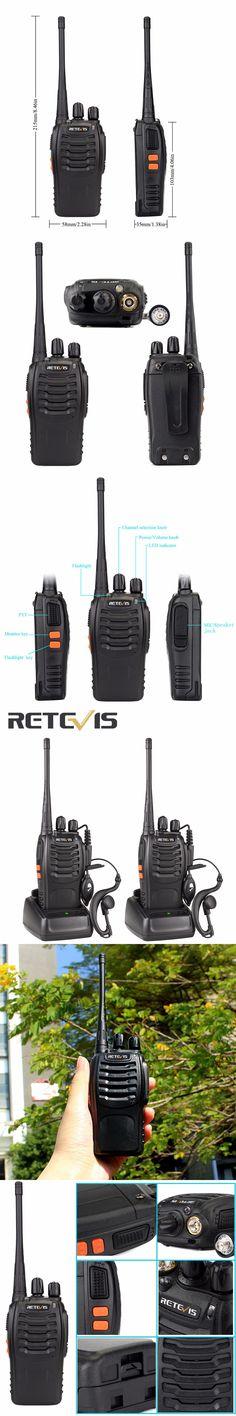 2pcs Walkie Talkie Retevis H777 UHF 400-470MHz Transceiver 16CH Ham Radio Portable Radio Amador Communicator A9105A