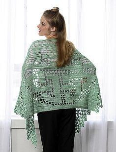 Ravelry: Celtic Knot Shawl pattern by Doris Chan