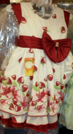 Vestido Moranguinho REF: KA143