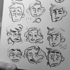 comic expression study - imzeferino