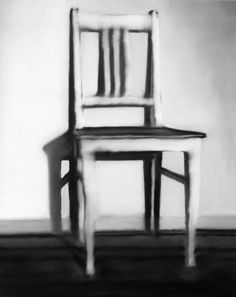 Kitchen Chair by Gerhard Richter  (Or whatever the German word for kitchen chair is.)