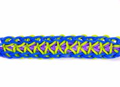Bracelet chaîne Zippy Rainbow Loom