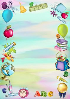 school frames and borders ile ilgili görsel sonucu Boarder Designs, Page Borders Design, Borders For Paper, Borders And Frames, School Decorations, Paper Decorations, School Border, School Frame, School Clipart