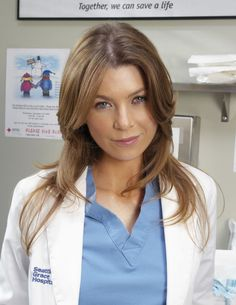 "Ellen Pompeo(as Meredith Grey) in ""Grey's Anatomy"" (TV Series)"
