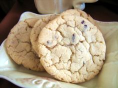 The flavor and moistness of cake, with the shape and crunch of a cookie.