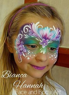Awesome floral mask