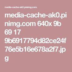 media-cache-ak0.pinimg.com 640x 9b 69 17 9b6917794d82ce24f76e5b16e678a2f7.jpg