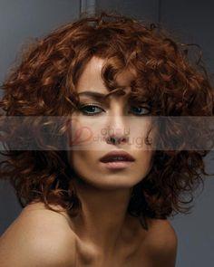 Perruque super-frisée coupe carrée entièrement en cheveux naturels - perruque - Chouchourouge