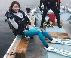 堀みづき - フォト蔵 Scuba Wetsuit, Diving Wetsuits, Diving Suit, Scuba Diving Gear, Triathlon Wetsuit, Scuba Girl, Womens Wetsuit, Swimwear, Catsuit