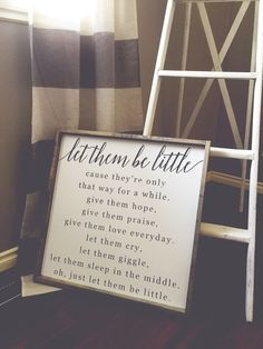 Let Them Be Little | Timber & Gray