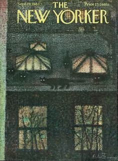 Animalarium: New Yorker cover by Andre Francois
