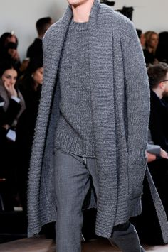Michael Kors at New York Fashion Week Fall 2014 - StyleBistro. I think this can only work with rugged jeans.....