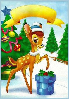Christmas - Disney - Bambi