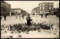 Odeonsplatz, view towards Ludwigstraße (postcard around 1900)