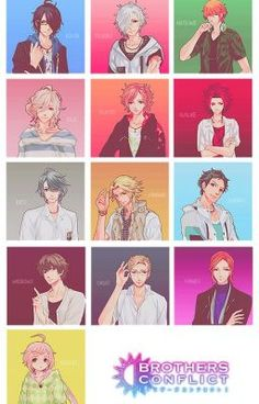 Siblings - Brothers Conflict ~ DarksideAnime