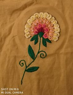 The best of hand embroidery is that you can be inspired on other ideas but this you do is unique cause every stich is made by your own hand.