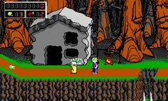 Commander Keen was a computer game. With interesting difficulties. Plattform and also known by minecraft developers because of alien alphabet. Interesting to know or play sometime