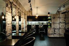 16 best industrial salon designs images industrial salon design rh pinterest com