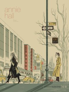 Anne Benjamin's Annie Hall poster. This makes me actually want to see the film. http://annebenjamin.com/posters/#/annie-hall/