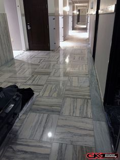 This restoration project was on an 85 year old marble floor from a facility that is being converted into a hotel.