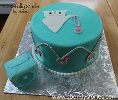 Origami Owl themed cake. Cake made by Cakefully Made by Salina