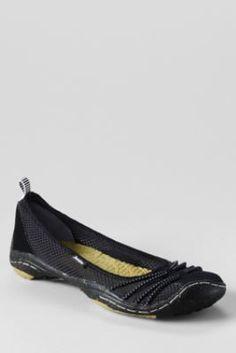 Women's Jambu Spin Barefoot Ballerina Flat Shoes from Lands' End $89