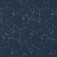 Blue-Dark, Blue-Light Brocade/Matelasse, Damask/Jacquard  Upholstery Fabric - K6667 DELFT/GARDEN