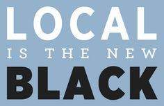 Buy local, eat local, and invest locally. Keep your money in your community and help your neighbors.