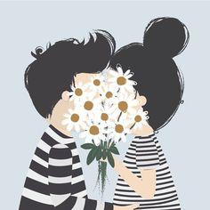 Super cute illustration by I am Fubi,