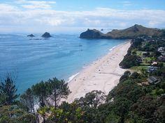 Hahei, Coromandel Peninsula, New Zealand. Taken by a Kiwi Experience passenger.