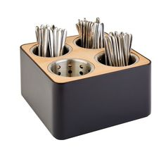 Crock Organizer Caddy 6 Diameter X 6 High, Copper Palais Essentials Stainless Steel Kitchen Utensil Holder Great for Large Cooking Tools