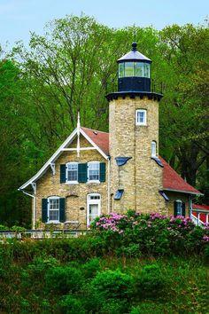 White River Lighthouse Whitehall, Michigan.