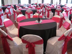 Simply Elegant Chair Covers And Linens For Dining Room Chairs With Rounded Back Linen Rentchaircover On Pinterest Black Tablecloths White Custom Fuchsia Runners Ties Beautiful Tables