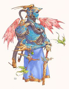 Ninth World Inspiration - Gekiga Manga Fantasy Character Design, Character Drawing, Character Design Inspiration, Character Concept, Concept Art, Dnd Characters, Fantasy Characters, Knight In Shining Armor, Fantasy Armor