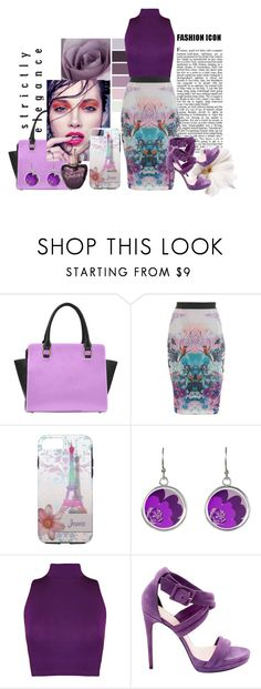"""Elegantly Yours - Purple & Lavender"" by colormegirly ❤ liked on Polyvore featuring Miss Selfridge, Lolita Lempicka, WearAll, Barbara Bui, handbags, fashionset and polyvoreset"