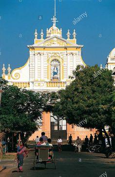 Basilica , Pondicherry , India.                                                                                                                                                                                 More