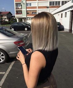 sommerliche Trendfrisuren 2019 Seite 20 summery trend hairstyles 2019 page 20 hairstyles Related posts:Trending Hairstyles 2019 - Cute Medium Length HairstylesImage gallery – Page 692428511436788360 – Arto. Bob Haircut For Fine Hair, Bob Hairstyles For Fine Hair, Haircut And Color, Trending Hairstyles, Short Hairstyles For Women, Pretty Hairstyles, Hairstyles 2018, Hairstyle Ideas, Blunt Haircut Medium