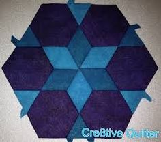 hexagon paper pieces - Google Search