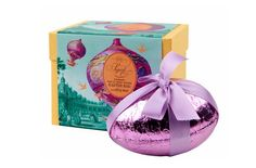 Colourful and illustration led Easter egg packaging by Fortnum and Mason.