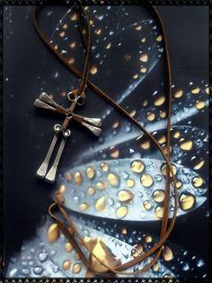 Vintage primitive handmade metal cross by PawhillTreasures on Etsy