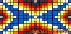 Alpha Friendship Bracelet Pattern #8376 - BraceletBook.com