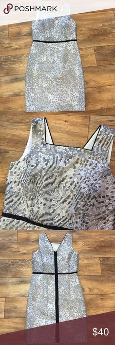 NWT Ann Taylor black & white patterned dress Fun textured detail, really cool design! Ann Taylor Dresses